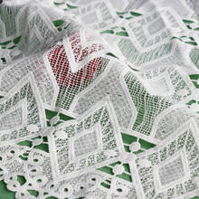 Eco-friendly reasonable price professional embroidery italy lace fabric