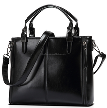 100% real women leather handbags, lady mature graceful tote bag,fashion leather bags women
