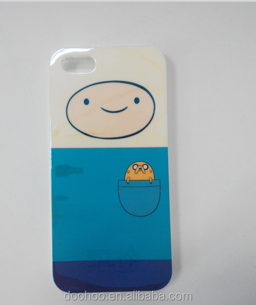 plastic packaging box blue color for cell phone case