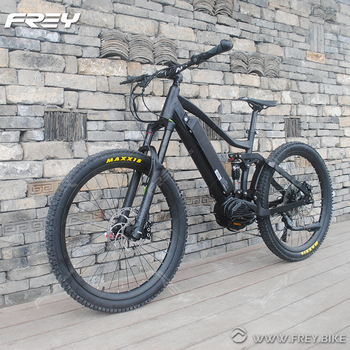 High-End Off-Road 1000W Bafang Mid Drive Electric Bike
