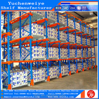 High Density Excellent Iron Drive in Pallet Rack for Food Warehouse Storage