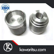 Anodized Aluminum Cover CNC Turning Parts,