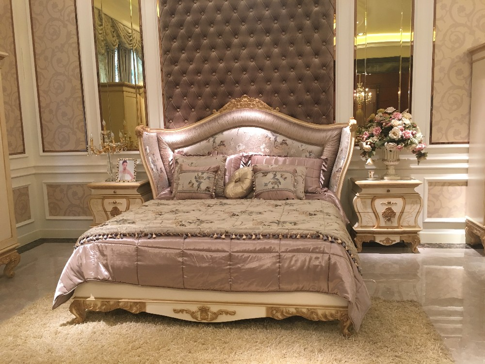 0067 Italian style luxury bedroom furniutre set