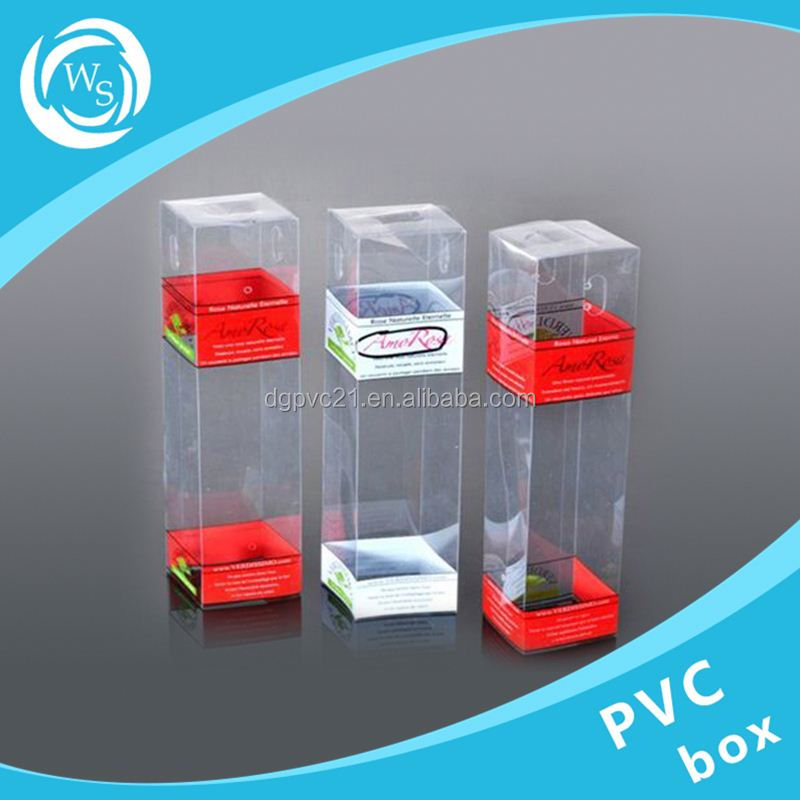 cheap clear hard plastic box for phone case packing