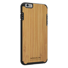 Nillkin Knights back cover wood Mobile Phone case for Apple iPhone 6 Plus
