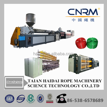 pp monofilament wire yarn extruder / plastic pp hdpe thread rope cord production machine with competitive price