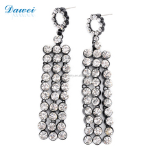 Alibaba Online Bulk Wholesale Ladies Crystal Tassel Earring Wholesale