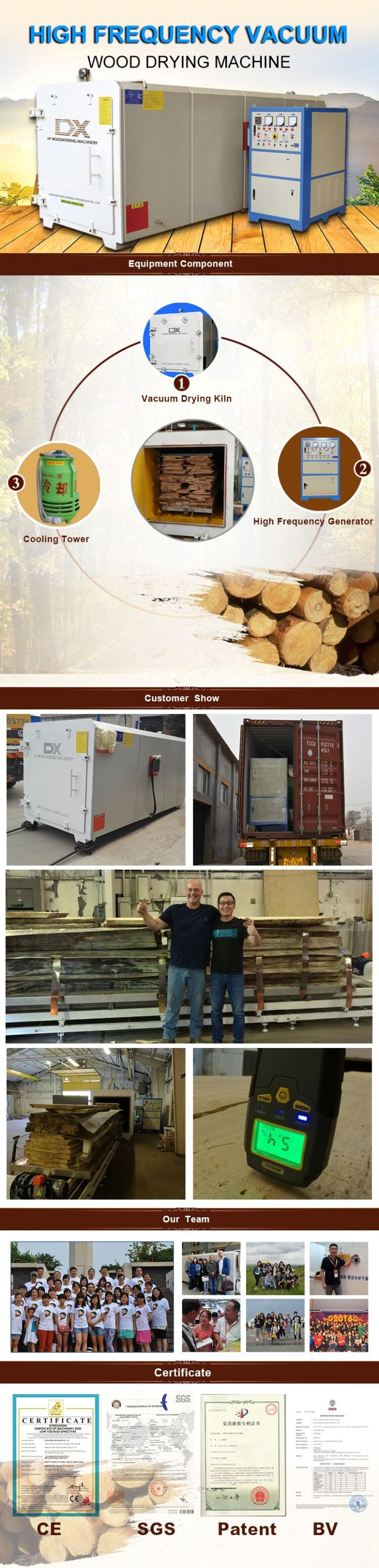 China Professional Vacum Wood Dryer|Wood Drying Chamber Manufacturer With Low Price