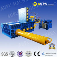 Aupu Machinery direct sale y81-315B scrap metal hydraulic press bundle apparatus with ce tuv sgs