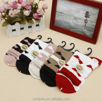 gift socks tube socks woman fashion crew socks,