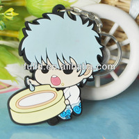 Customized Soft Pvc Rubber Key Chain
