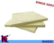 Rock wool board and mineral wool board for curtain wall insulation