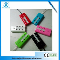 China new product 6 port socket usb charger,charging for MP4, PDA, MP3, DV, mobile phone, digital camera