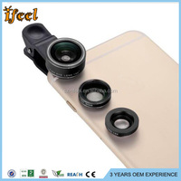 2016 new product Universal clip 189 degree super fisheye lens for iphone accessory