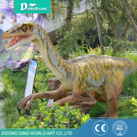 museum exhibits coelophysis outdoor playground dinosaur model,robotic dinosaur for amusement park