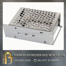 custom manufature brushed lase cut stainless steel enclosure fabrication made in china supplier