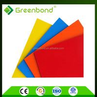 Greenbond lightweight plastic exterior wall panel for building materials popular sells from china
