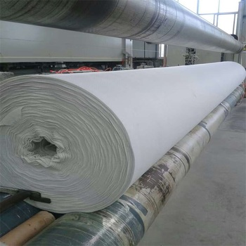 Drainage geotextile fabric roll