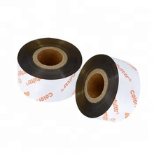 40mm*300m high quality zebra compatible thermal transfer ribbon barcode printer gold resin ribbons