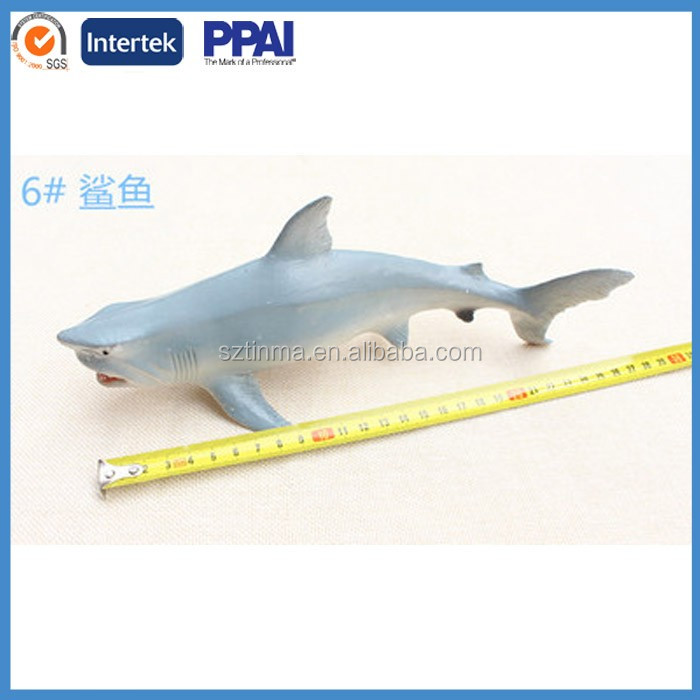 plastic 3d customized whale toys great white shark,plastic shaker custom plastic molding toys
