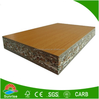 Both Sides Melamine Faced Particle Board For furniture grade