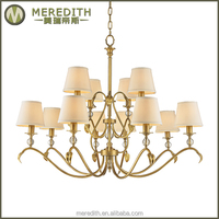 Meredith antique waterford crystal chandelier #4092