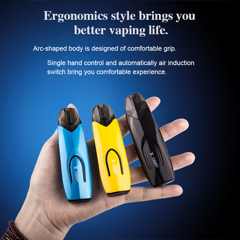 High Quality ecig Closed System Vape Pen Kit Welcome OEM Pod Vape