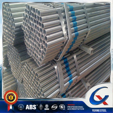 Good quality factory GI pipe price list rigid galvanized steel pipe size