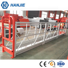 Construction high rise electric scaffold zlp630 suspended rope platform