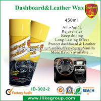 High Quality Dashboard and Leather Wax,Car Care Cockpit Dashboard Cleaner (2013 Canton Fair)