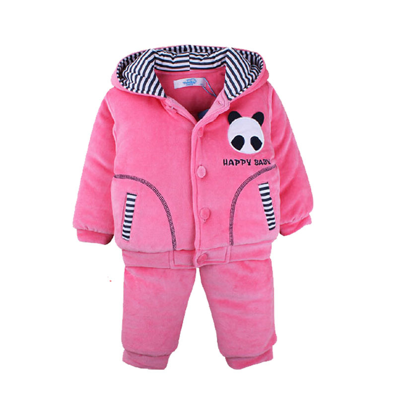 2015 Unisex baby winter thick warm velvet leisure suit sweater snowsuit baby snowsuit baby snow coats infant boy coats outerwear