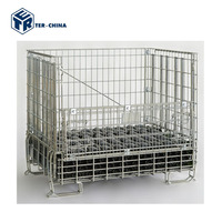 China Factory Metal Mesh Bin Insulated Pallet Containers