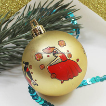 Golden Christmas Balls/ Christmas Tree Decoration/ Party Decorations
