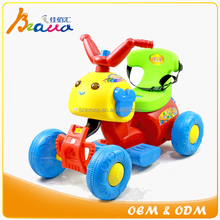 Battery Powered Cute beatles style 4 wheels baby ride on toy quad bike