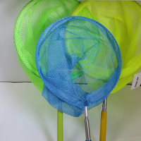 High quality Extendable stainless steel butterfly net,kids butterfly nets,flying butterfly toys
