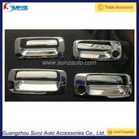 For Toyota Landcruiser FJ80 Auto Chromed Door Handle Cover Exterior Accessories ABS Chromed Door Handle Cover
