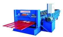 High quality! Colored Glazed Tile Roll Forming Machine/ Press machine for steel using