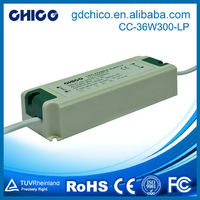 CC-36W300-LP Durable input 100-240VAC led driver 90v 30w dimmable
