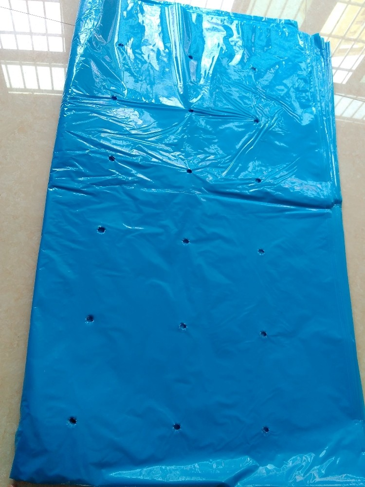UV resistent plastic banana bag with holes for South Africa