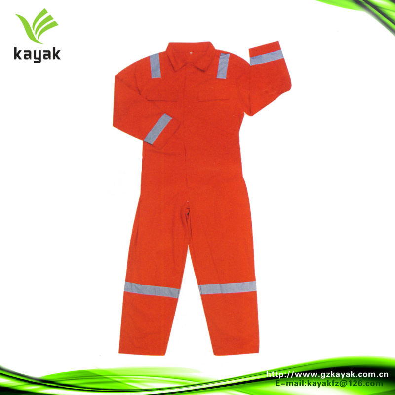 Customised 100% polyester coverall