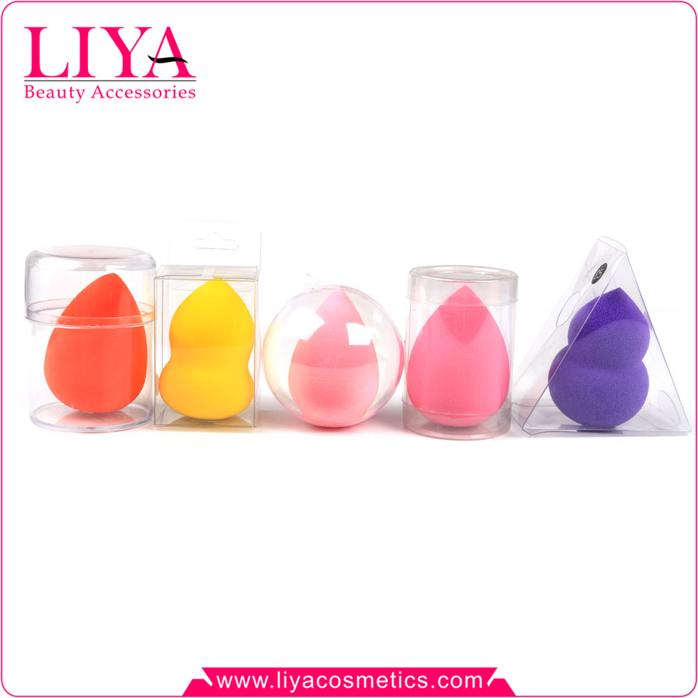 2016 high quality latex free blender foundation makeup sponges