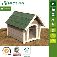 DFPETS DFD014 Peaked Roof Timber Dog Kennel