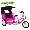 double useing for advertising and tourist tricycle rickshaw
