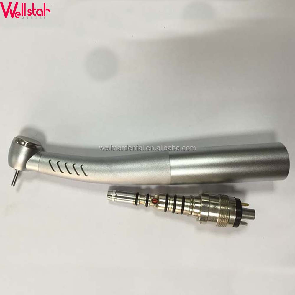 Best price dental fiber optical high speed handpiece with coupling dental handpiece for sale