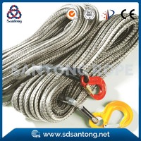 synthetic uhmwpe winch rope