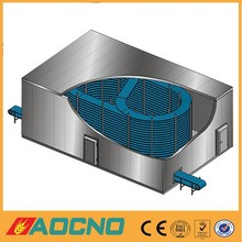 AOCNO stainless steel food cooler ,bread/ hamburger /toast spiral cooling tower(manufacturer)