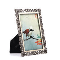 sterling silver photo frames metal funny photo frame photo frame with clay