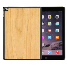 Real Wood Cover for iPad air 2 smart cover wood case woodback snap case cover skin for iPad