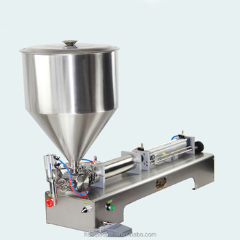 liquid filling machine for cosmetics shampoo honey