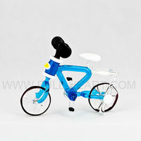 Buy glass tricycle gift articles figurine furnishing